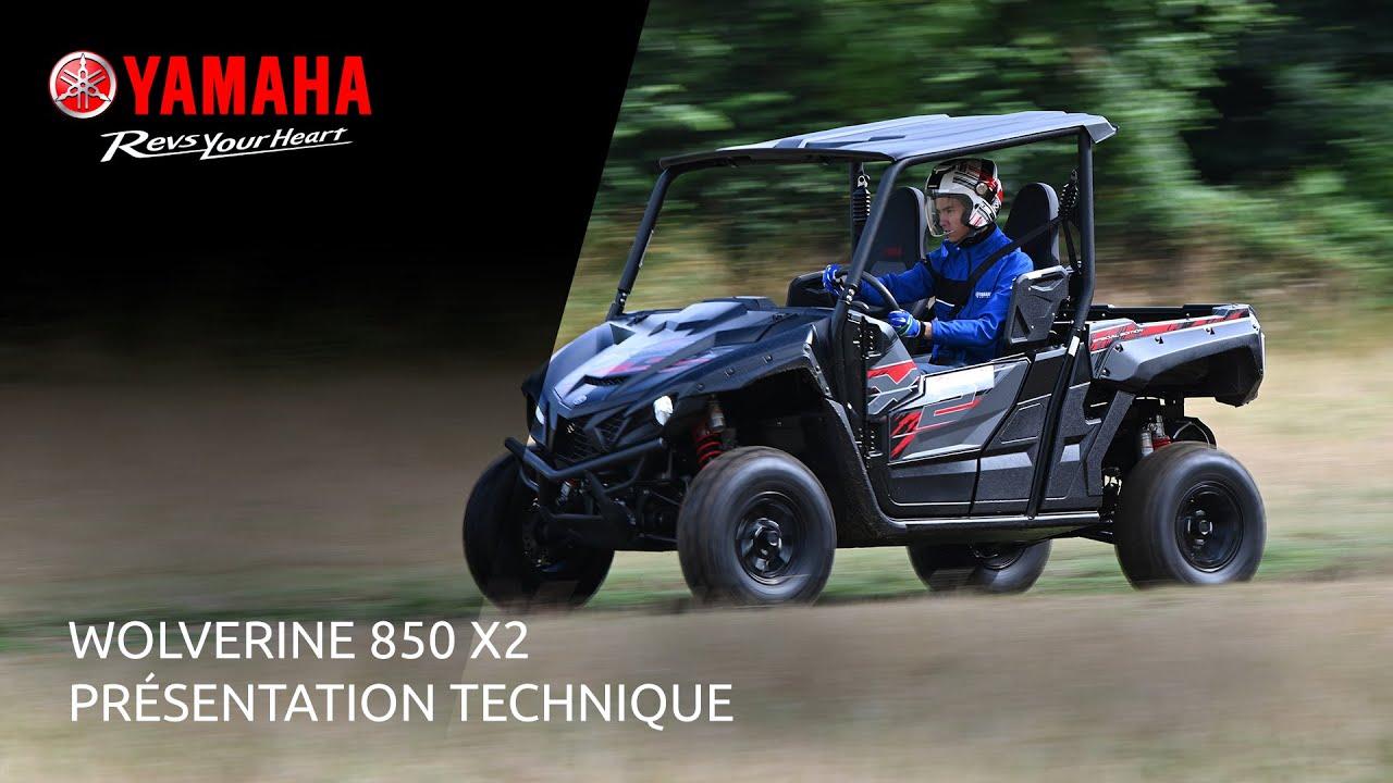 Yamaha WOLVERINE 850 X2 – Présentation Technique