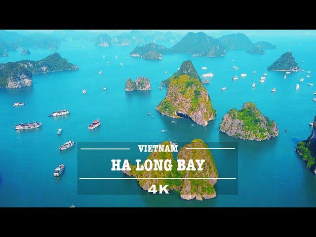 Ha Long Bay, Vietnam By Drone (4K)