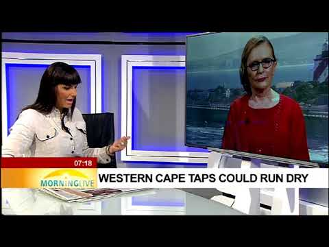 Helen Zille concerned as Western Cape taps run dry