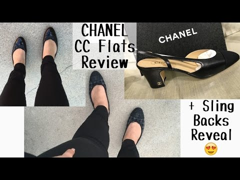 a62945843f8 CC Flats Review (for wide 🙈 feet) + Sling Backs Reveal ❤ - YouTube