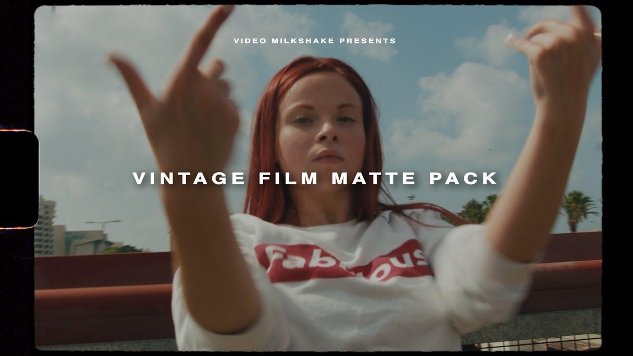Vintage Film Matte Pack (Letterbox, Grain, Super8 +)