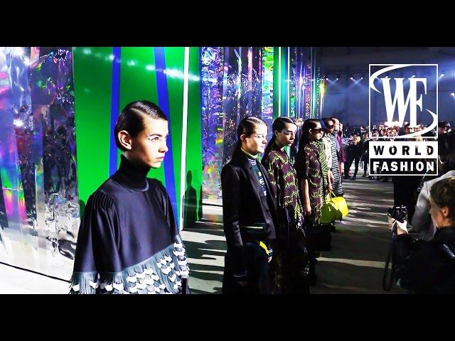 Front Row Kenzo Fall-Winter 15-16 Paris Fashion Week