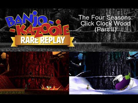 Rare Replay - Banjo-Kazooie - The Four Seasons: Click Clock Wood (Part II)
