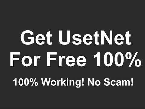 How To Use Usenet for free | No scam | 100% Free Downloads
