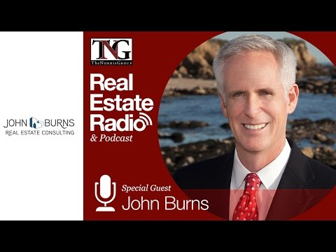 John Burns Joins Bruce Norris on the Real Estate Radio Show #508 Mp3