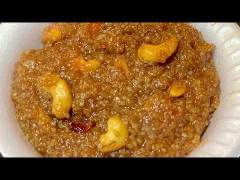 Quinoa Pongal Recipe !!!! கம்பு சக்கரை பொங்கல் !!!!
