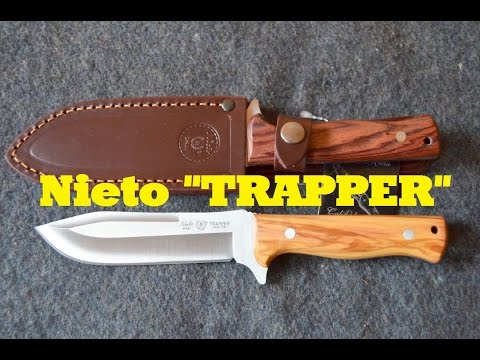 Nieto Gürtelmesser Trapper [review] Bushcraft Gear Aus