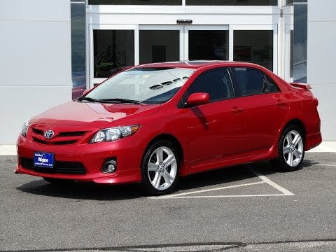 2013 toyota corolla s special edition in saco me j8728a youtube. Black Bedroom Furniture Sets. Home Design Ideas