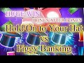HOLD ON TO YOUR HAT VS PIGGY BANKING SLOT ! HUGE WIN! PLAYING AT RIVERSPIRIT CASUNO TULSA OK !