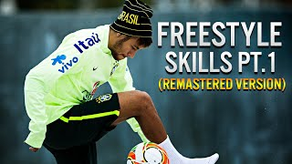 Neymar Jr ● Best Freestyle Skills - 2014 Pt.1 | (1080p) HD