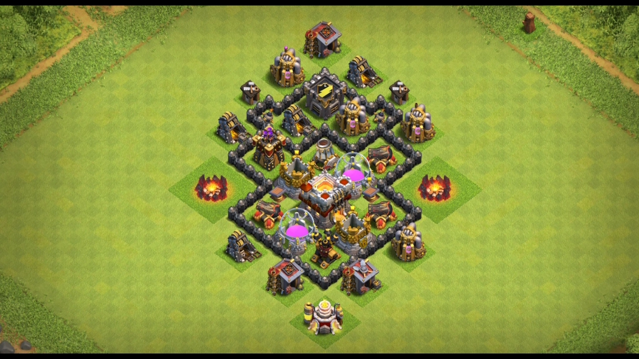 Undefeated Town Hall 4  Th 4  Farming Base     Anti Storag