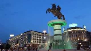 Statue of Alexander the Great on Macedonia Square 亞歷山大騎馬雕像 ( Macedonia )