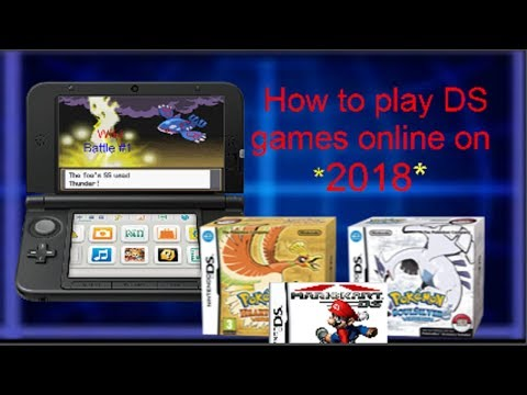 How to play DS games online on your 3ds (2018) DSimenu++/ TWLoader