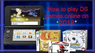 How to play ds games online on your 3ds 2018 dsimenu twloader
