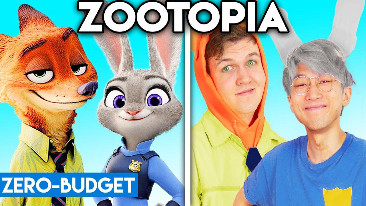 Download ZOOTOPIA WITH ZERO BUDGET! (Zootopia Movie PARODY)