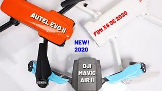 Drone Talk Ep #7 - New Drones Released At A Bad Time - Mavic Air 2, EVO II, V-Coptr, FIMI X8 SE 2020