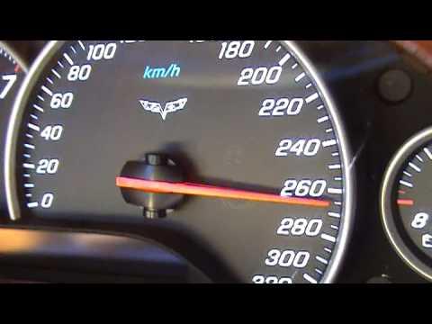 Corvette Z06 0-300 km/h