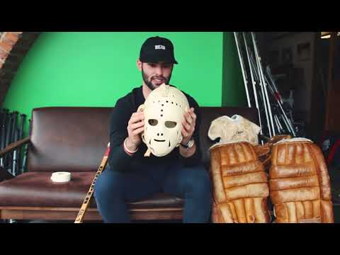 VINTAGE Goalie Gear With Sabres Prospect Colin Blackwell