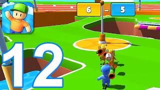 Stumble Guys - Gameplay Walkthrough Part 12 - New Map: Rocket Rumble (iOS, Android) screenshot 5