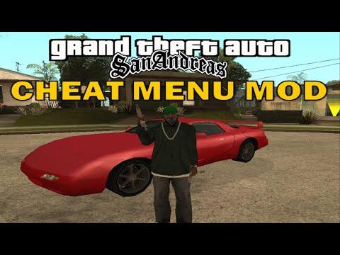 GTA San Andreas - Cheat Menu V5 Mod (2020 New!)