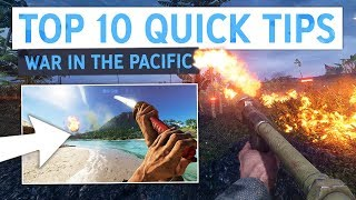 Battlefield 5 Pacific: Top 10 Quick Tips To Make You Better!