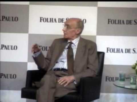 José Saramago na Sabatina Folha de São Paulo - Escritores Brasileiros