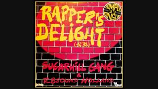 Sugarhill Gang - Rappers Delight (12 inch long version) HQsound