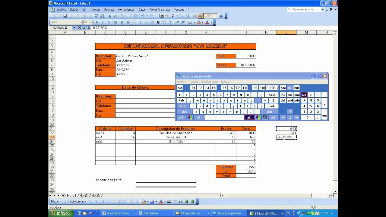 Cmo Llenar Una Factura Ejemplo De   apexwallpapers.com