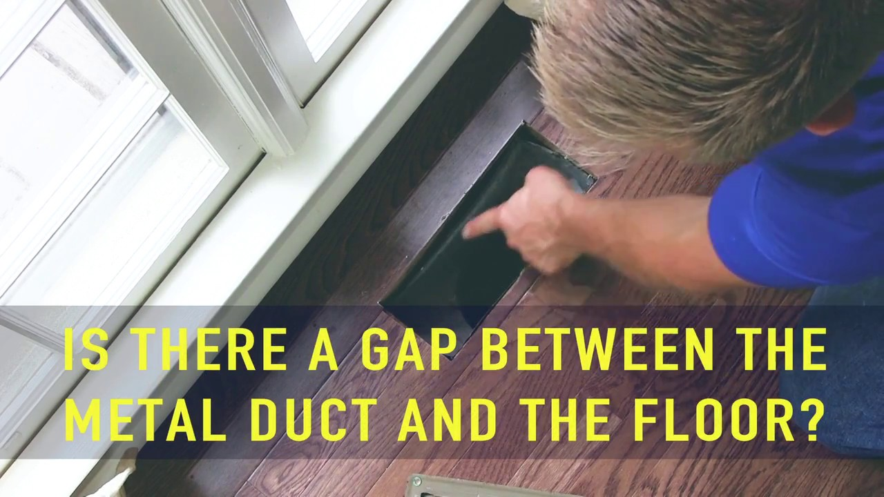 How to Seal Floor Vents