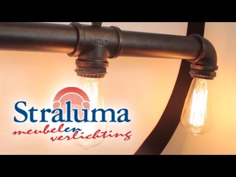 industrial tube 5 6 lichtbarhanglamp bruin keuken straluma bekijk alle details