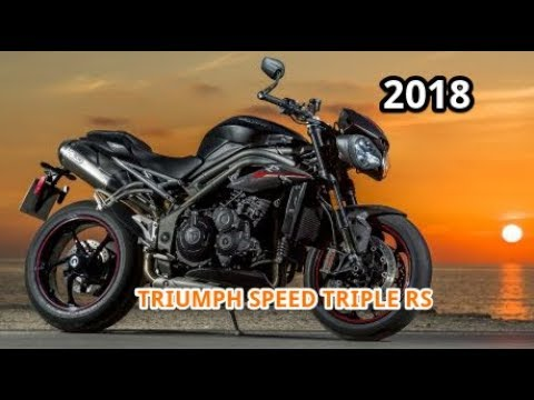 2018 Triumph Speed Triple Rs First Ride Review Youtube