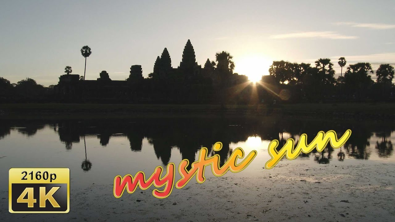 Magic Sunrise in Angkor Wat - Cambodia 4K Travel Channel