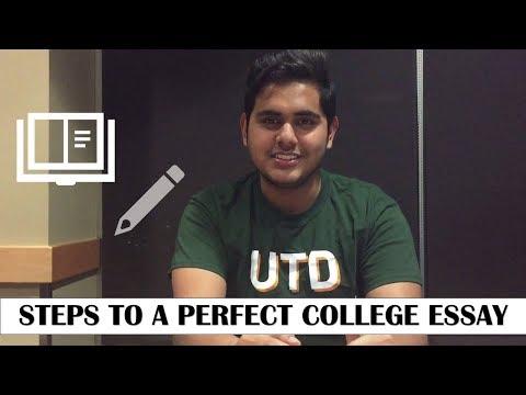 Видео Perfect personal essay