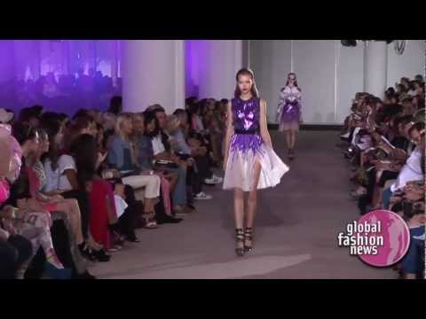 Prabal Gurung Spring Summer 2012 Full Runway Show | Global Fashion News