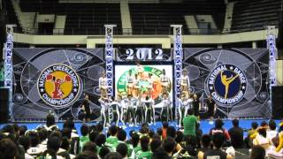 FEU Cheering Squad NCC 2012 Finals with Original Cheer Music