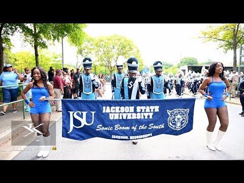 Jackson State University - Marching In Vs BCU - 2019