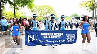 Jackson State University - Marching In Vs BCU - 2019