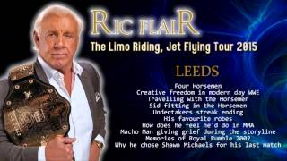 Ric Flair talks Randy Savage grief, Four Horsemen, Creative Freedom, Shawn Michaels, Sid & More