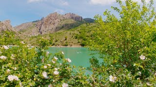 Изумрудное озеро в Крыму.Водопады.Зеленогорье. Где стоит побывать!
