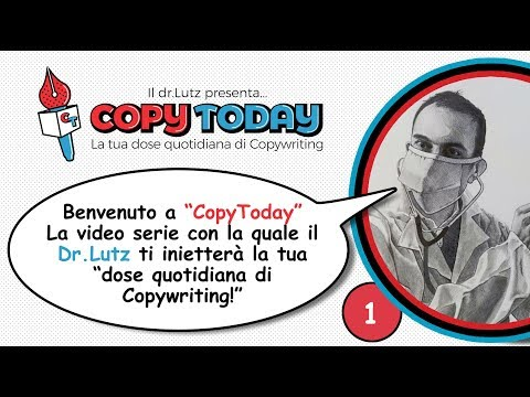 [CopyToday #1] La tua dose quotidiana di Copywriting