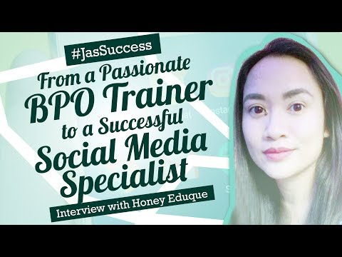 🔴 From a Passionate BPO Trainer to Social Media Specialist |
