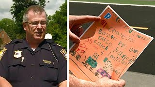 When This 5-Year-Old Wrote A Note To The Police, They Knew They Had To Take Immediate Action