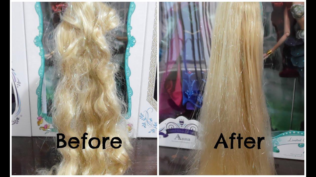 Как У Барби Расчесать Запутанные Волосы