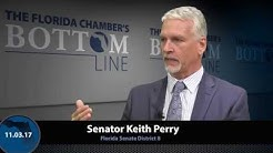 Senator Keith Perry Discusses Workers' Compensation on the Florida Chamber's Bottom Line