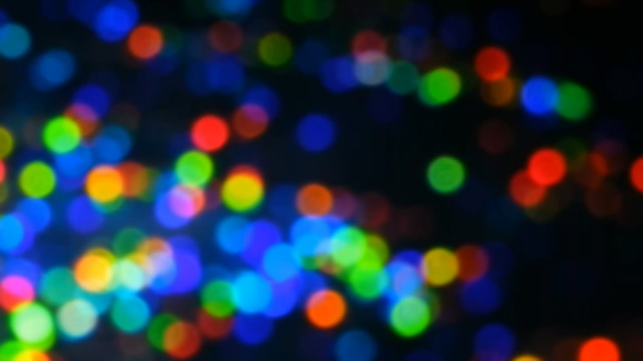 HD Background Organic Rainbow Colored Bokeh Nature's Color ...