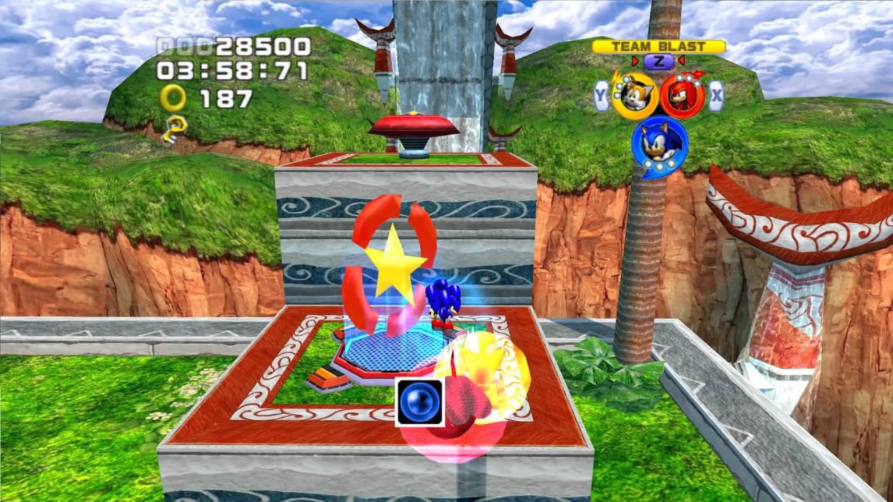 Sonic Heroes (GC) Team Sonic's Story