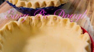 Easy Homemade Pie Dough Recipe - Cream Cheese Pastry