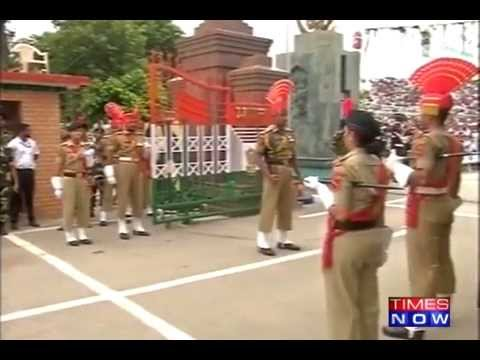 Independence Day Celebrations at Wagah Border