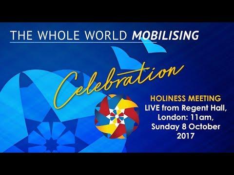 The Whole World Mobilising Celebration: Holiness Meeting