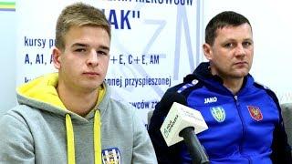 Truszkowski i Gąska (Korona Ostrołęka) o meczu z MKS Przasnysz